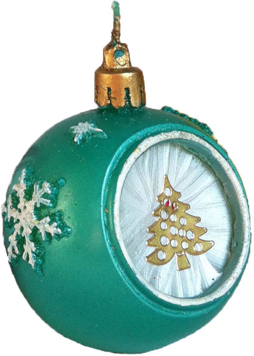Свеча декоративная Мир свечей Нарядный шарик, 63-407, зеленый, высота 5 см свеча декоративная proffi шар цвет белый диаметр 7 5 см