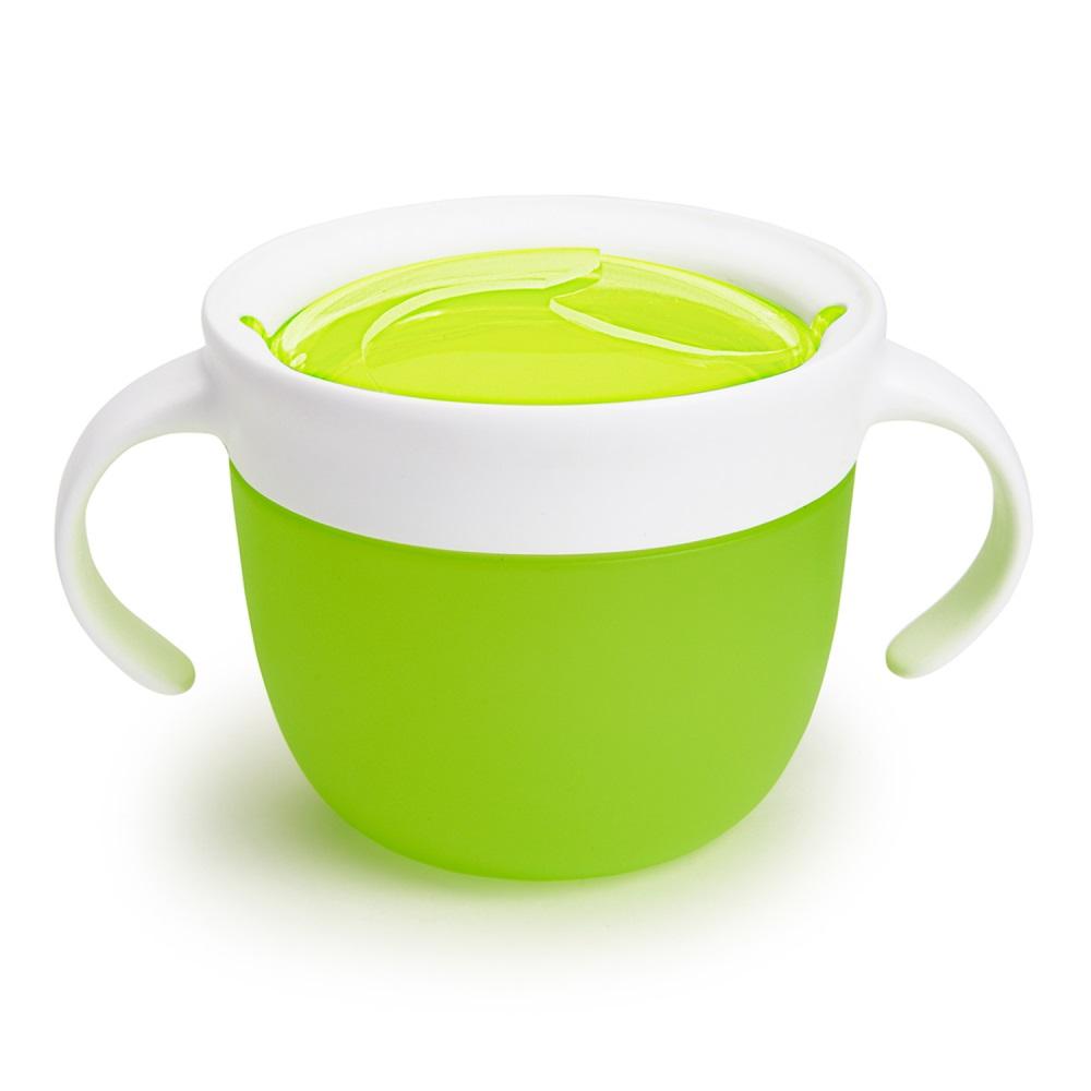 Контейнер для детского питания Munchkin Поймай печенье, ЦБ-00008071, зеленый munchkin контейнер для сухих смесей latch munchkin