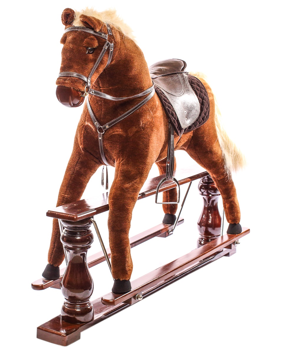 Качалка Toyland 1850 коричневый