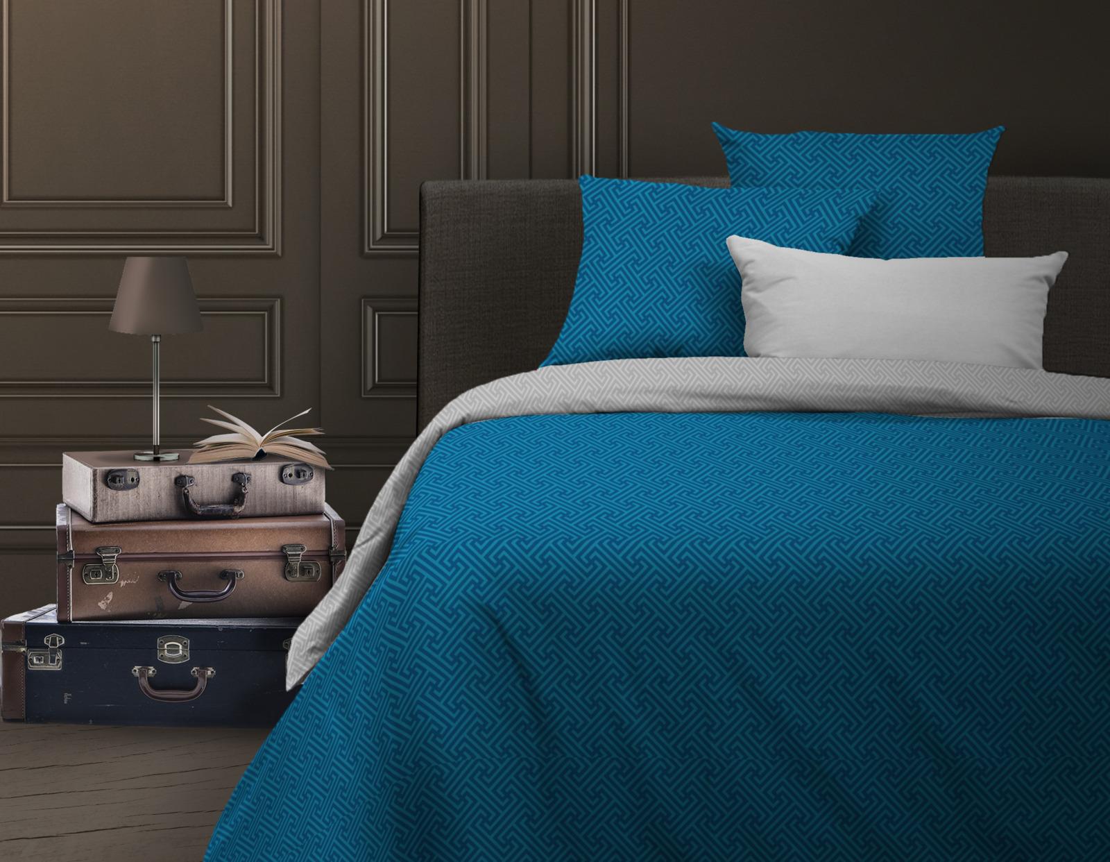 Комплект белья Wenge Silver azure, 513382, 2-спальный, наволочки 70х70 покрывало wenge watson sydney 180x210cm 504224