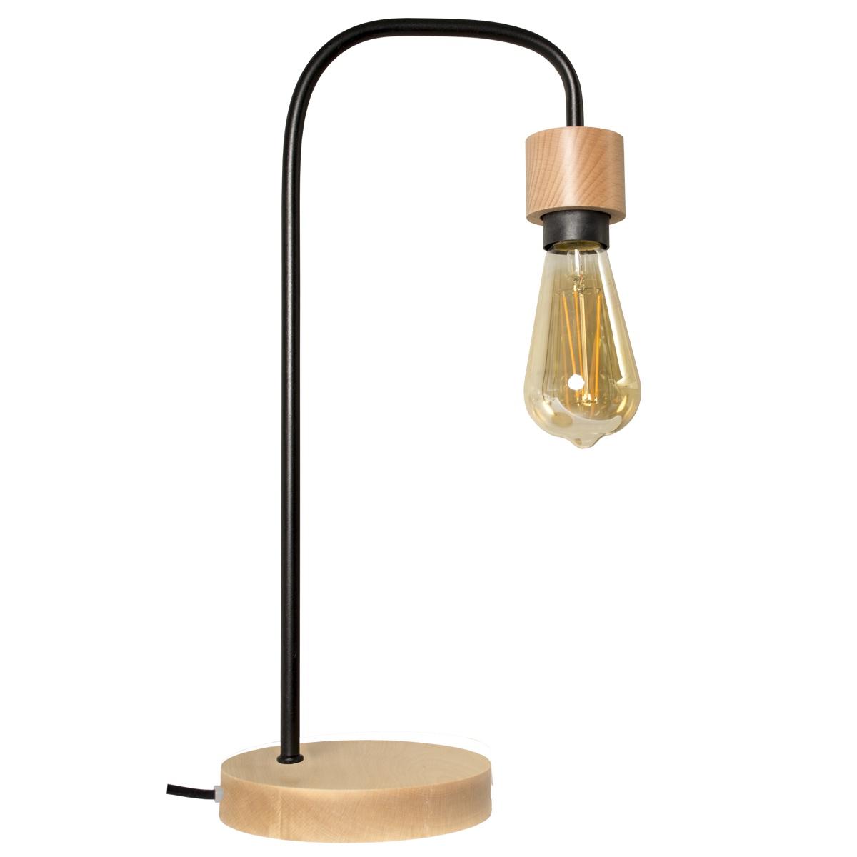 Настольный светильник Дубравия Эдисон, 233-74-21/Т винтажная лампа эдисон radios squirrel сage т45 24 нити