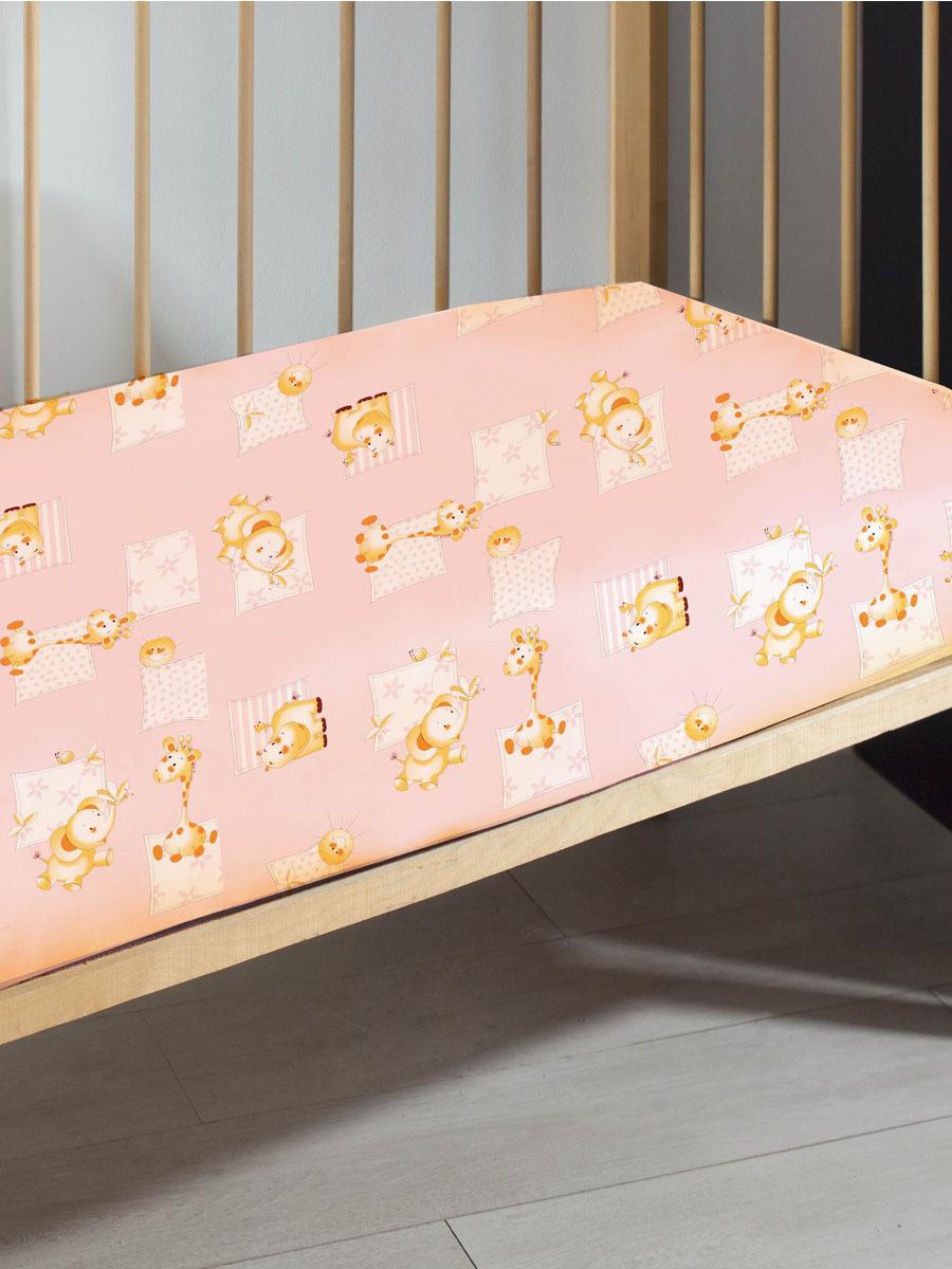 цена Простыня Primavelle, 114612110-26Ж, розовый, 60 x 120 см онлайн в 2017 году