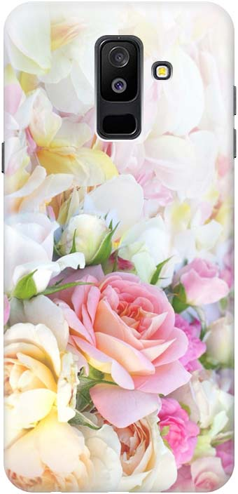 Фото - Чехол-накладка Gosso Cases Нежные розы для Samsung Galaxy A6 Plus (2018) A605G, 180090 проводной и dect телефон foreign products vtech ds6671 3