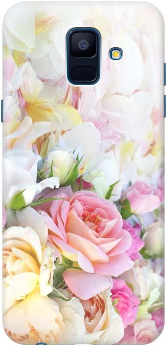 Фото - Чехол-накладка Gosso Cases Нежные розы для Samsung Galaxy A6 (2018) A600FN, 180079, разноцветный проводной и dect телефон foreign products vtech ds6671 3