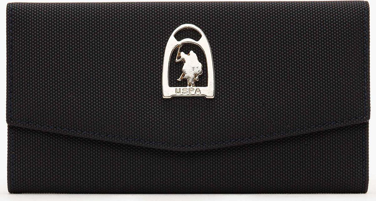 Портмоне женское U.S. Polo Assn., A082SZ0CD0K8ELTON_VR033, темно-синий женское платье polo