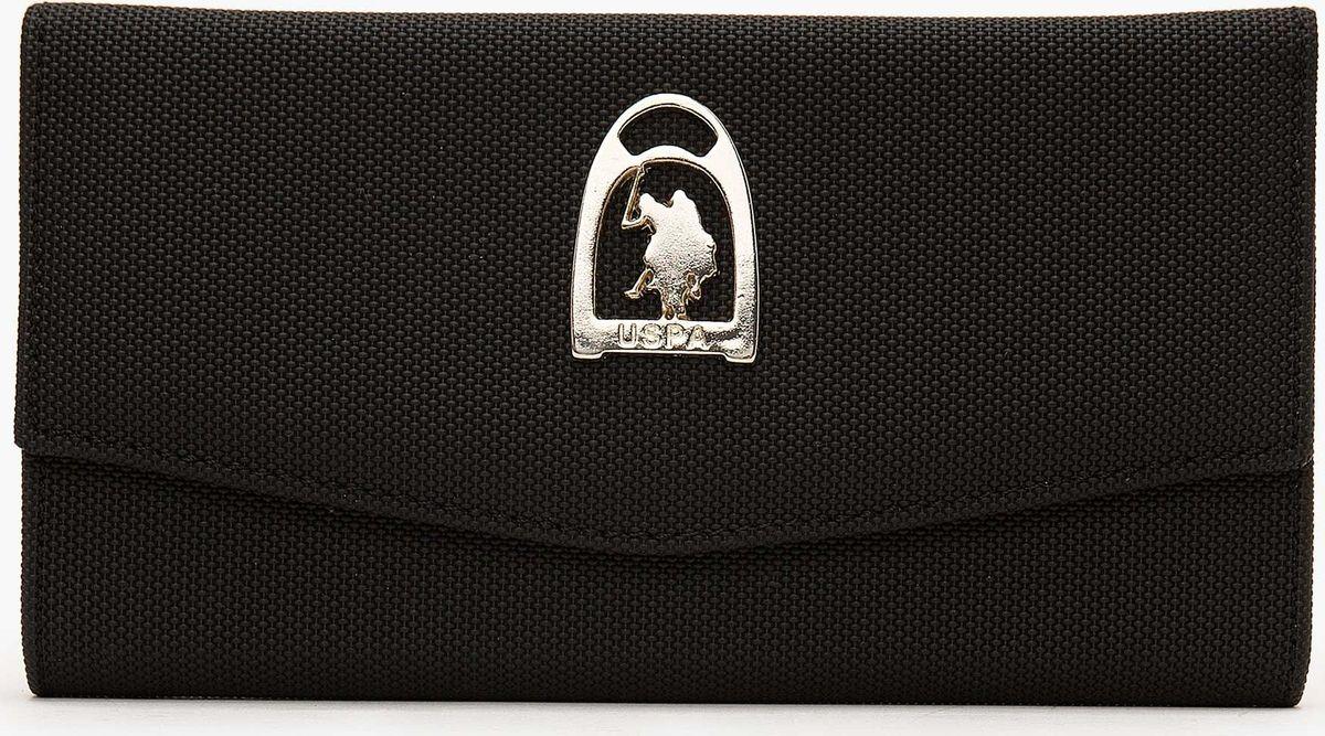 Портмоне женское U.S. Polo Assn., A082SZ0CD0K8ELTON_VR046, черный женское платье polo