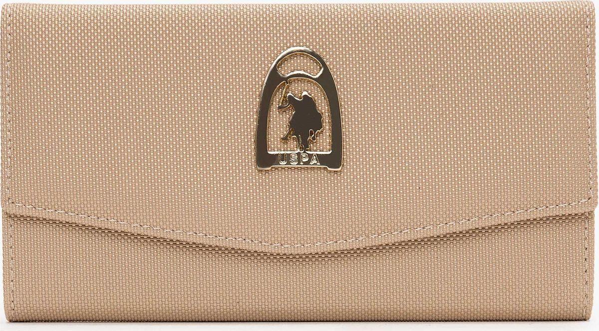 Портмоне женское U.S. Polo Assn., A082SZ0CD0K8ELTON_VR096, бежевый женское платье polo