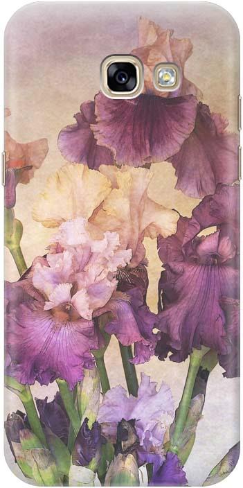 Фото - Чехол-накладка Gosso Cases Фиолетовые цветы для Samsung Galaxy A5 (2017) A520F, 190314 проводной и dect телефон foreign products vtech ds6671 3