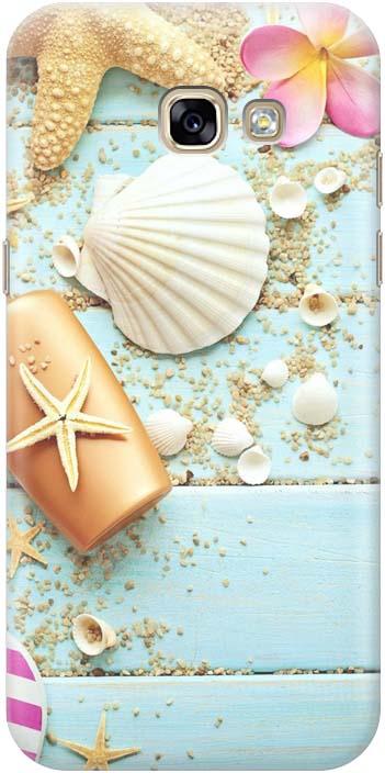 Фото - Чехол-накладка Gosso Cases Пляжный натюрморт для Samsung Galaxy A5 (2017) A520F, 180148 проводной и dect телефон foreign products vtech ds6671 3