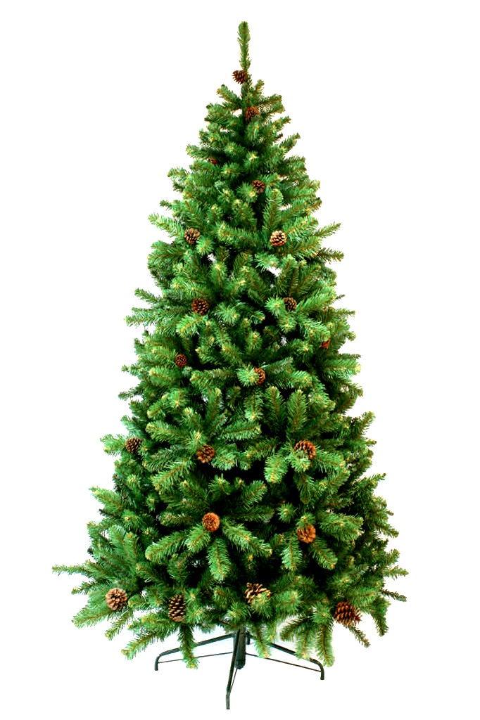 Искусственная Ель Crystal Trees Подмосковная KP7516, 160 см ель новогодняя crystal trees 1 5 м питерская кр8115