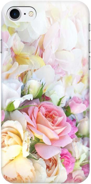 Чехол-накладка Gosso Cases Нежные розы для iPhone 7 / 8, 180255, разноцветный