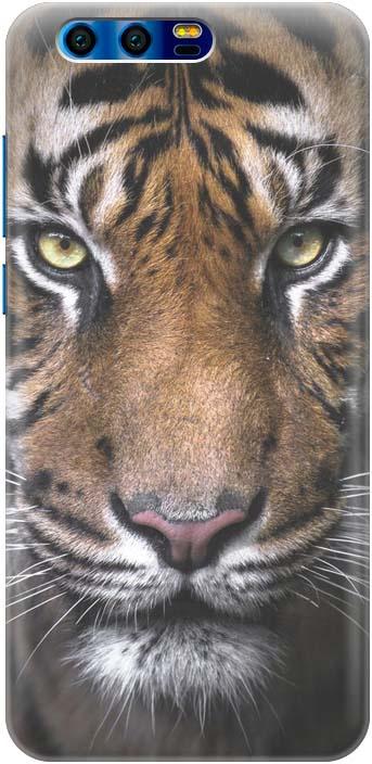 "Чехол-накладка Gosso Cases ""Тигр"" для Huawei Honor 9, 180051"
