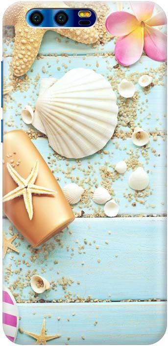 Фото - Чехол-накладка Gosso Cases Пляжный натюрморт для Huawei Honor 9, 180049 проводной и dect телефон foreign products vtech ds6671 3