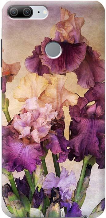Фото - Чехол-накладка Gosso Cases Фиолетовые цветы для Huawei Honor 9 Lite, 190299 проводной и dect телефон foreign products vtech ds6671 3