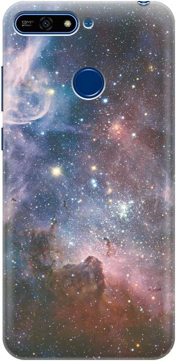 Фото - Чехол-накладка GOSSO CASES Космос для Huawei Honor 7A Pro, 183382, силиконовый проводной и dect телефон foreign products vtech ds6671 3