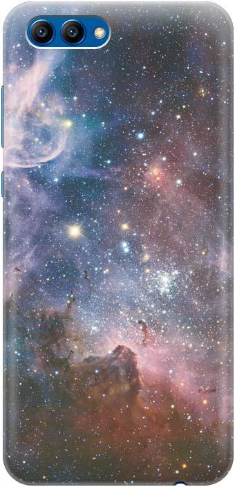 """Чехол-накладка GOSSO CASES """"Космос"""" для Huawei Honor 10, 183557, силиконовый"""