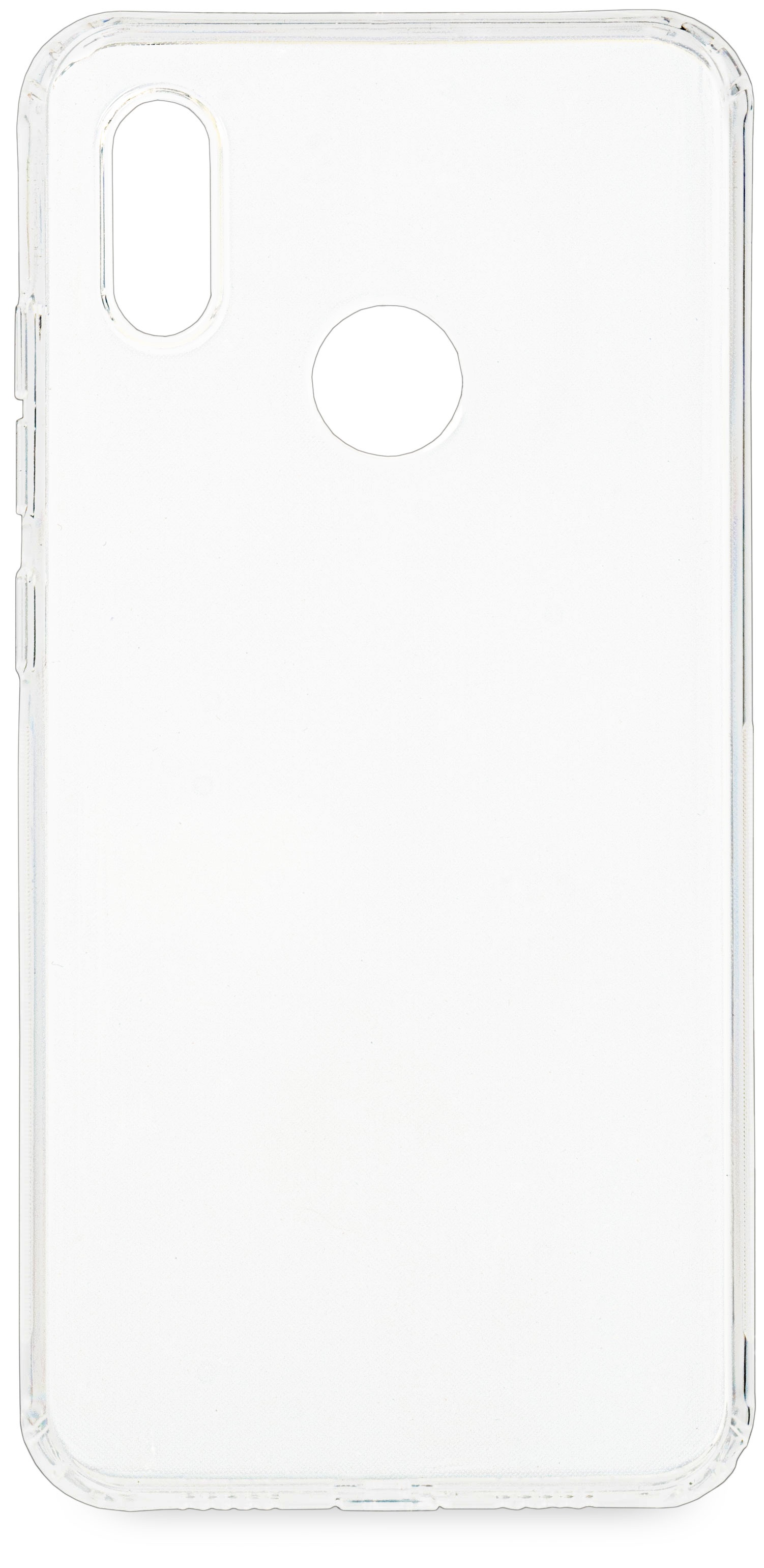 Накладка Skinbox для Xiaomi Mi 8, Transparent xiaomi mi 5c soft screen protector transparent