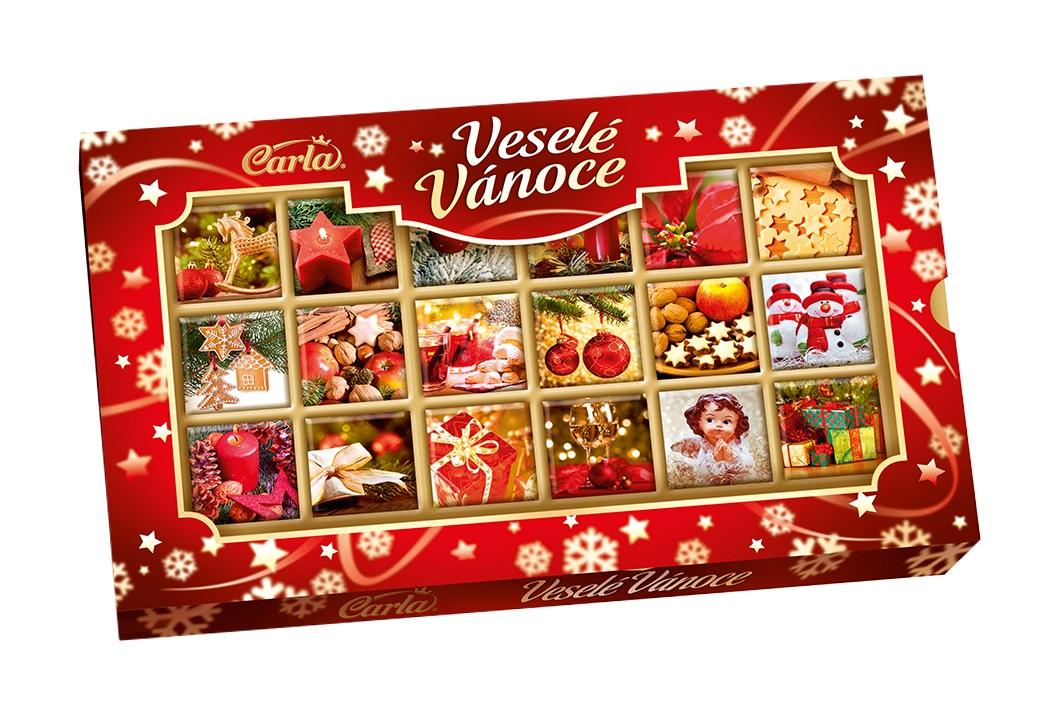 Молочный шоколад Carla Merry Christmas, 150 г0512_6000Чешский молочный шоколад Carla Merry Chrustmas - это потрясающее нежное угощение из молочного шоколада, приготовленное по традиционному рецепту. Восхитительный вкус шоколада придется по вкусу абсолютно всем, даже самым избирательным гурманам.