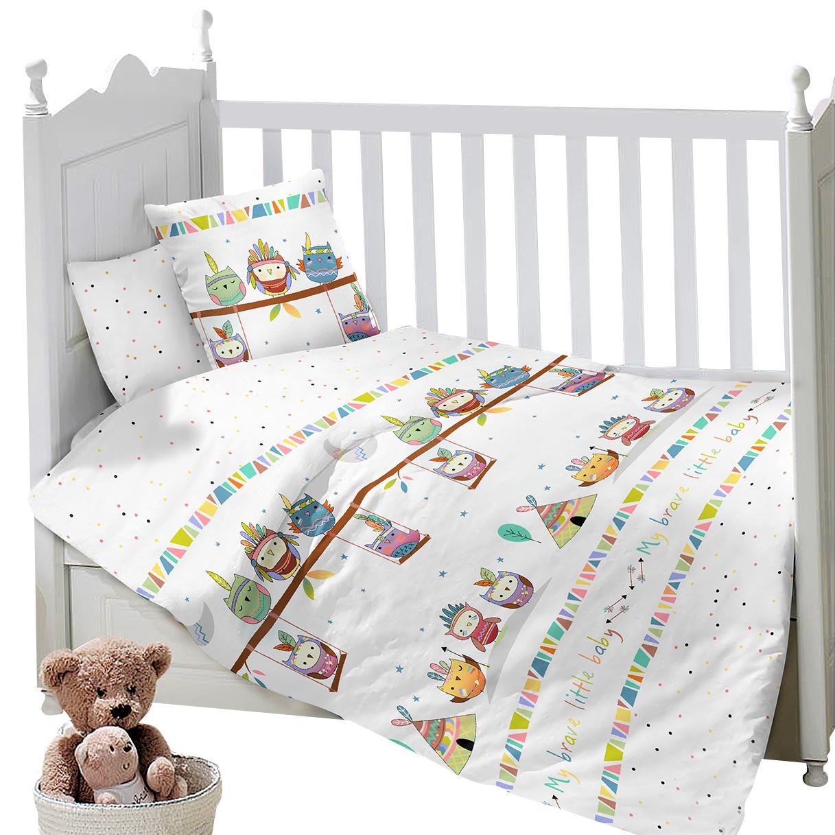Комплект постельного белья Sweet Baby Gioco, 419298, белый, 3 предмета цена