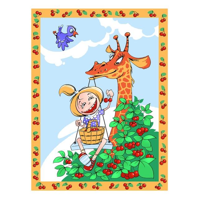 Плед-покрывало Baby Nice Velsoft. Жираф и девочка, 100 х 140 смV32287/13Пушистые, удивительно нежные, теплые и практически невесомые пледы из VELSOFT — материала последнего поколения, созданного в Японии — подарят малышам ощущение домашнего тепла и уюта. Приятная мягкость, способность «дышать», гипоаллергенность и отличные антибактериальные и теплоудерживающие свойства инновационного материала делают его идеальным для производства детского текстиля. Пледы-покрывала из VELSOFT великолепно стираются в стиральной машине, быстро сохнут, отлично сохраняют форму, не образуют «катышки», не линяют и не утрачивают яркость красок даже после длительного использования. А один взгляд на умилительных зверушек, созданных дизайнерами компании специально для этой коллекции, способен поднять настроение и малышам, и их родителям.