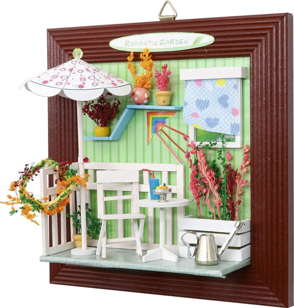 Румбокс. Интерьерный конструктор DIY MINI House Летний сад (Настенная рамка) конструктор diy house зимний сад