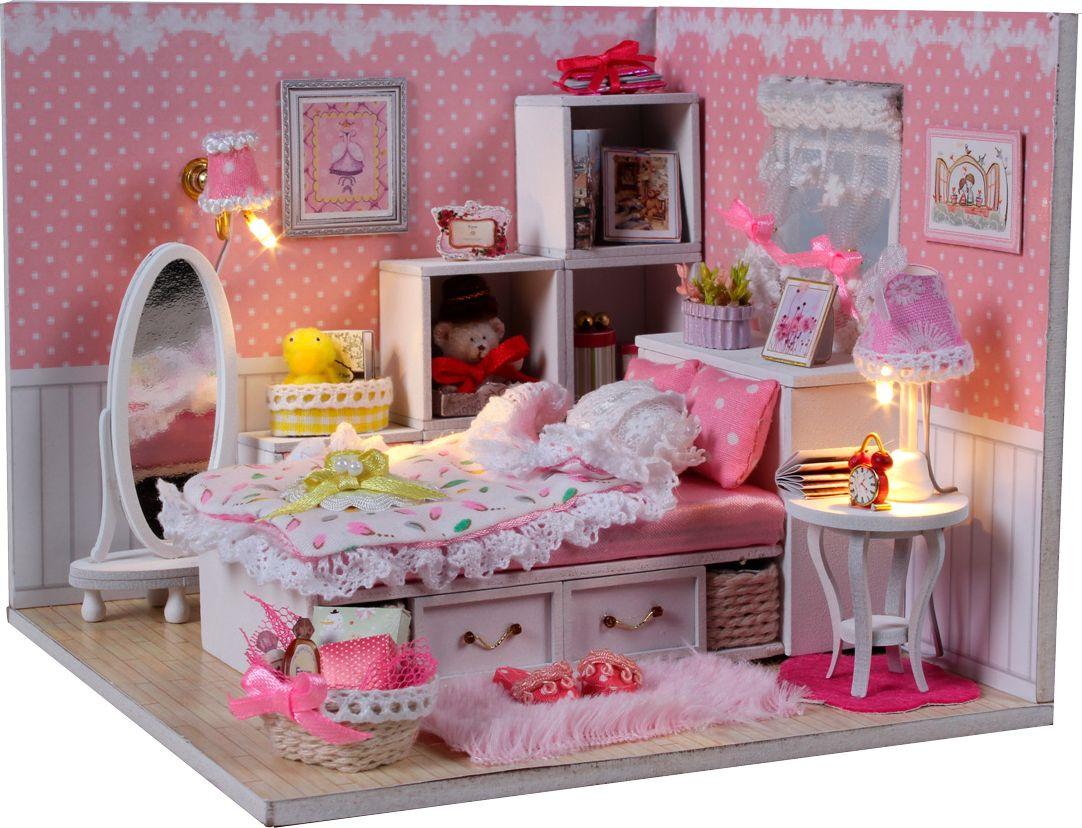 Интерьерный конструктор DIY MINI House Комната маленькой принцессы румбокс diy house dg12 loft