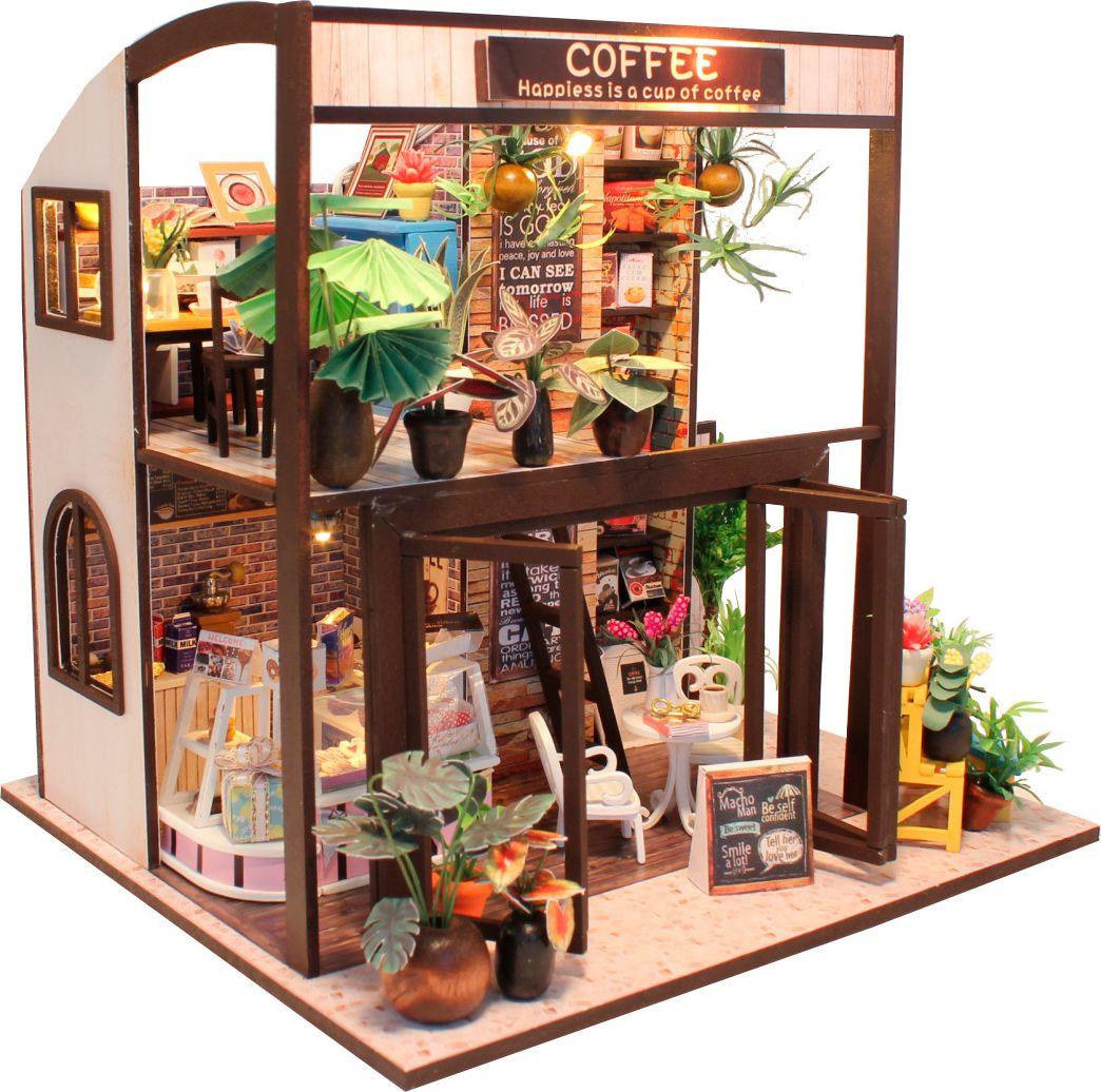 Фото - Румбокс. Интерьерный конструктор DIY MINI House COFFEE HOUSE интерьерный конструктор для творчества счастливый турист