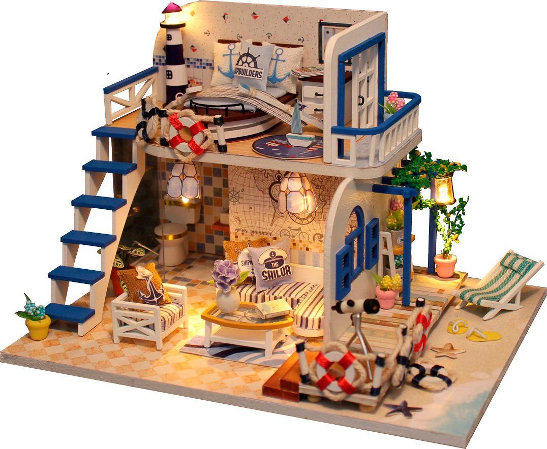 Фото - Румбокс. Интерьерный конструктор DIY MINI House Домик у моря интерьерный конструктор для творчества счастливый турист