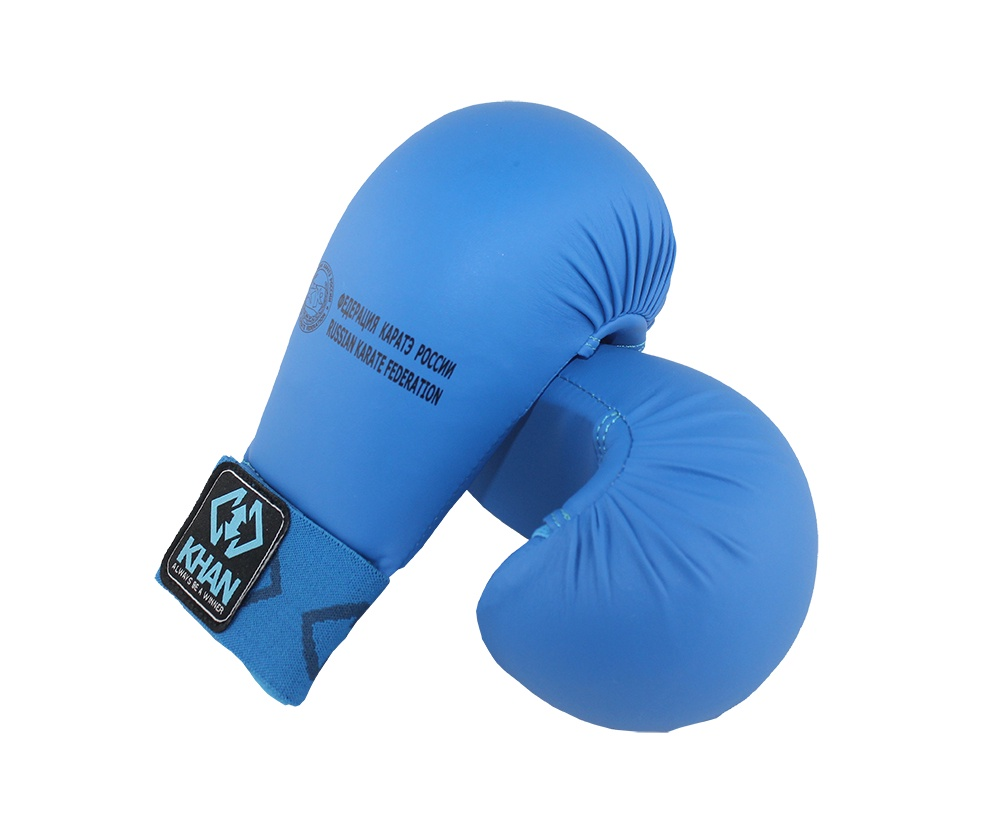 Защита кисти Khan Каратэ ФКР, FKR20001-7, синий, размер M накладки на кисть каратэ khan shotokan белый kg201601 2 размер s