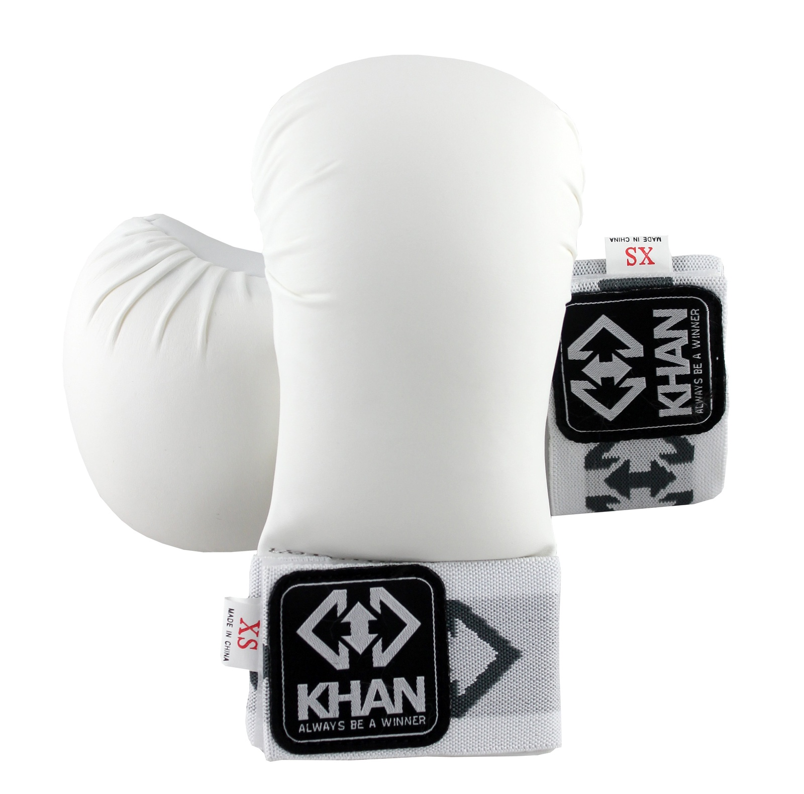 Накладки на кисть Каратэ Khan Shotokan, белый. KG201601-1. Размер XS накладки на кисть каратэ khan shotokan белый kg201601 2 размер s