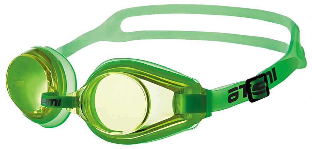 Очки для плавания Atemi, M104, салатовый