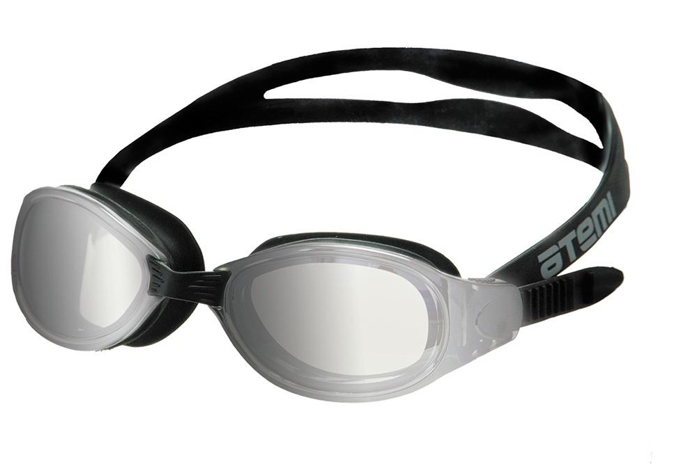 Очки для плавания Atemi, B101M, черный