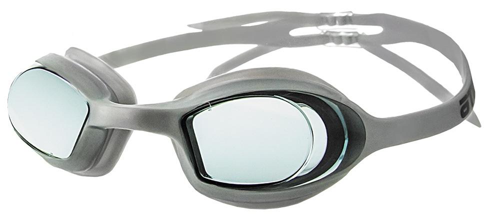 Очки для плавания Atemi, N8202, серебристый очки для плавания atemi детские s202 розовый