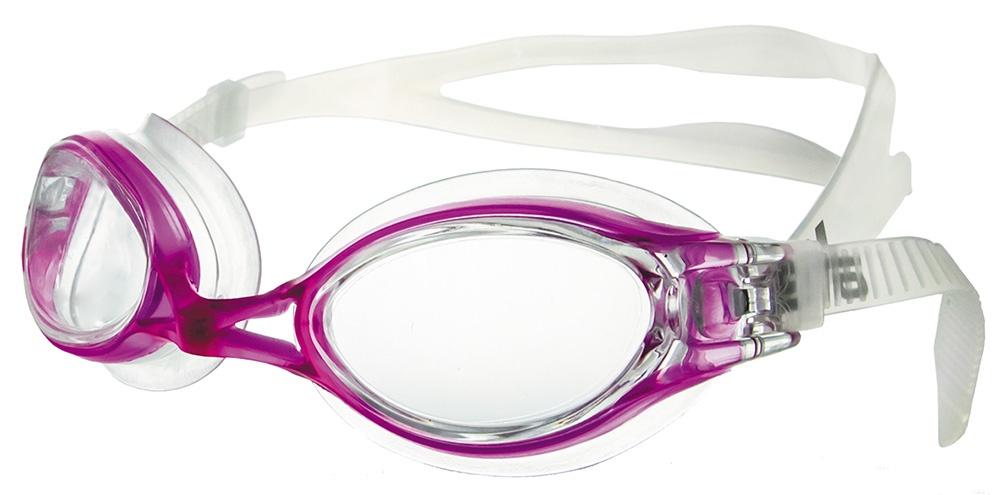 Очки для плавания Atemi, N8302, фуксия