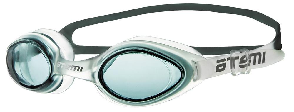 Очки для плавания Atemi, N7504, черный очки для плавания atemi детские s202 розовый