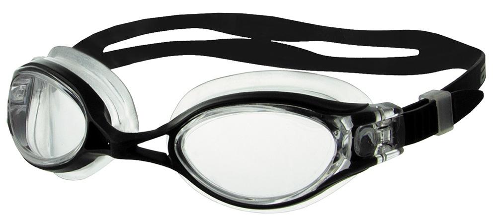 Очки для плавания Atemi, N8301, черный