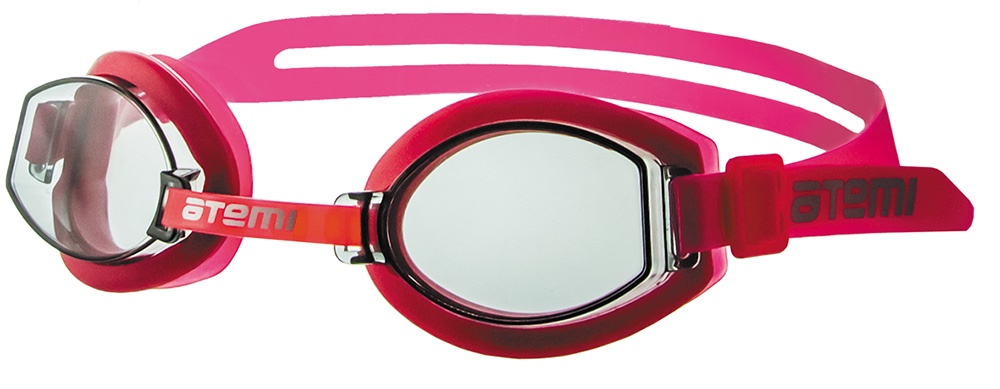 Очки для плавания Atemi детские, S202, розовый