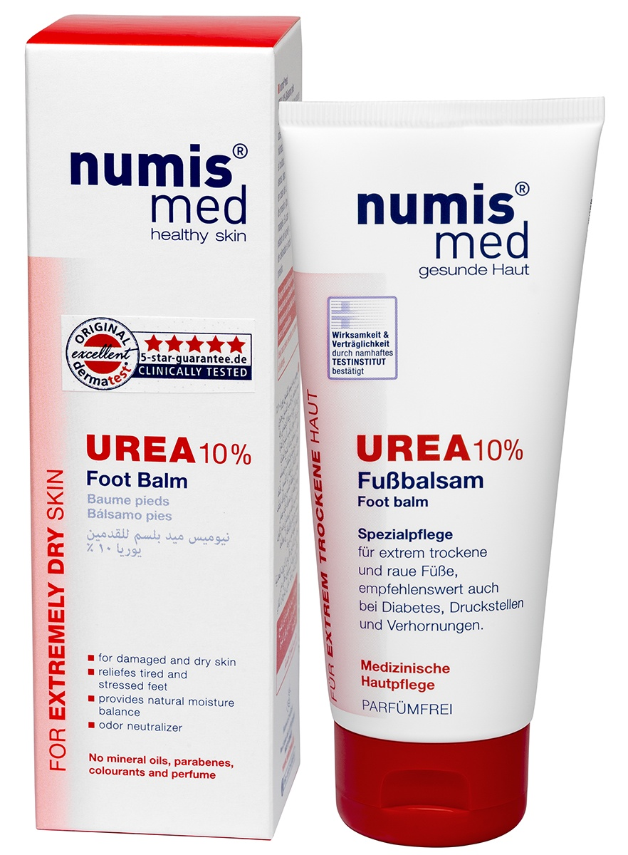 Бальзам для ухода за кожей numis® med Бальзам для ног с 10 % мочевиной