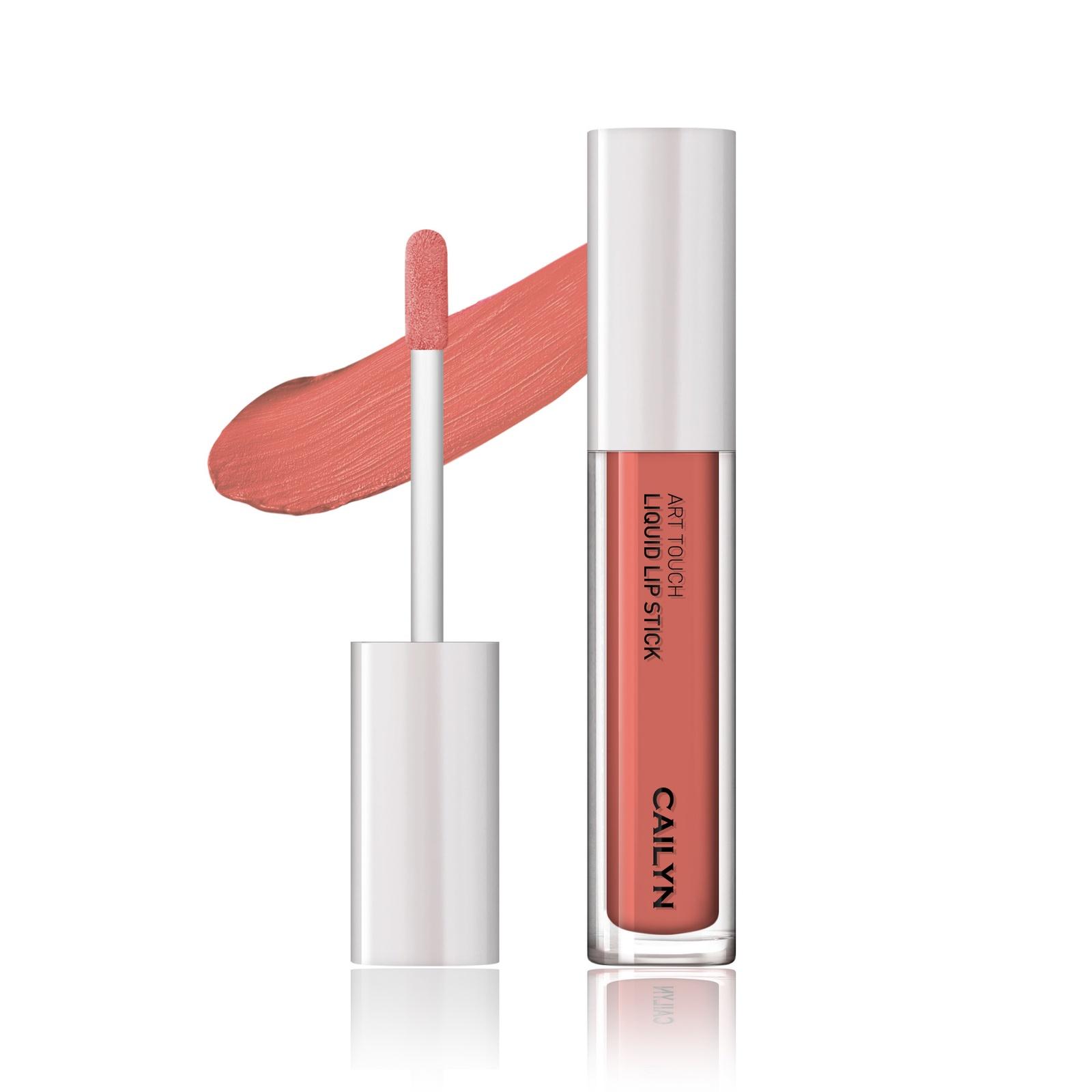Губная помада CAILYN Art Touch Liquid Lipstick кремовая, 03 Hera, 4 мл
