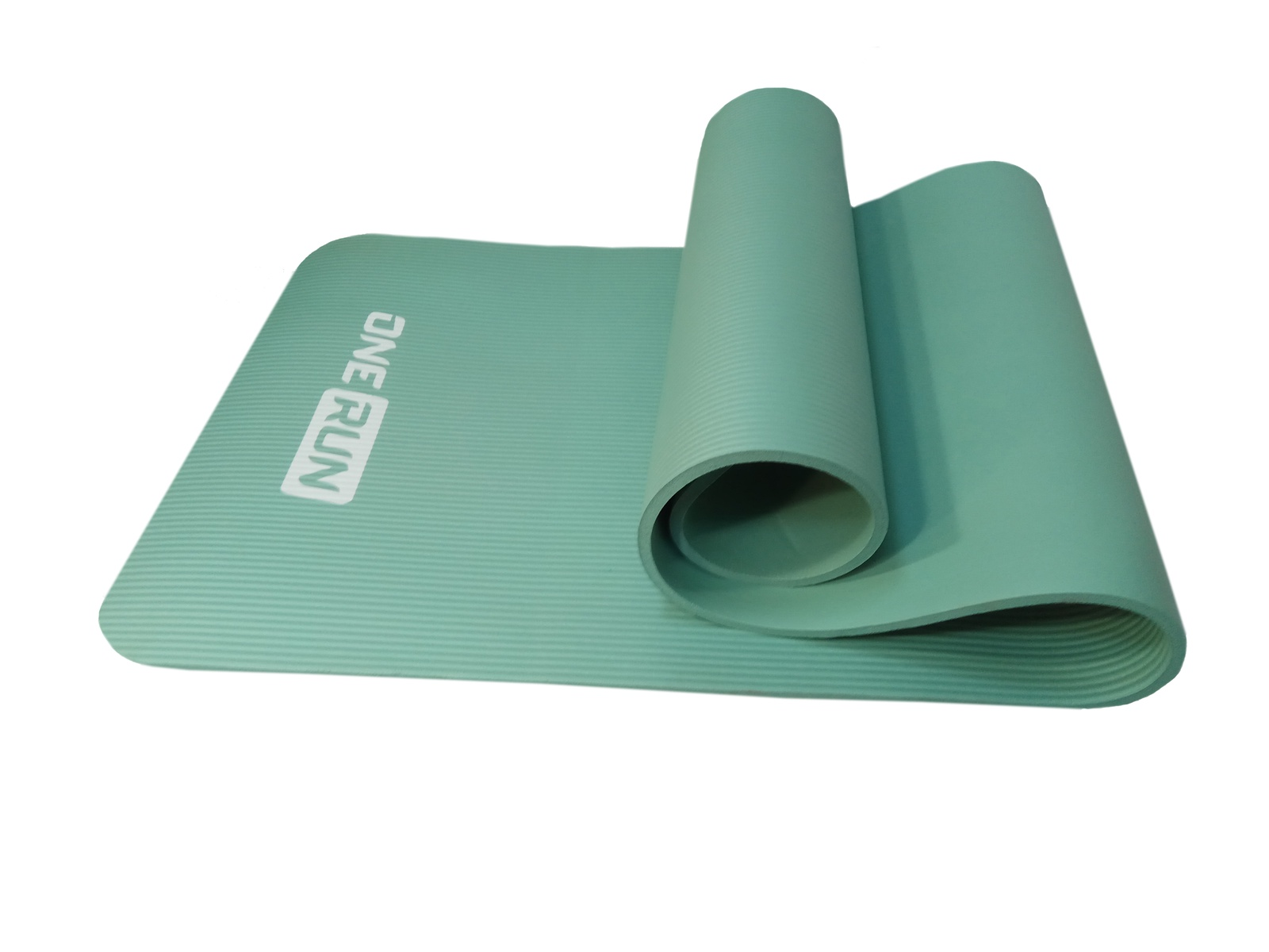 Коврик для йоги и фитнеса OneRun 495-4847, бирюзовый коврик для йоги onerun цвет фиолетовый 183 х 61 х 0 4 см