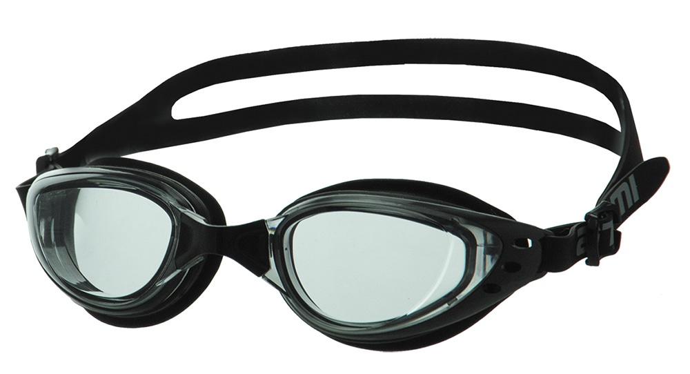 Очки для плавания Atemi, B202, черный, серый очки для плавания atemi детские s202 розовый