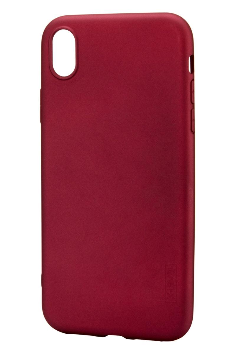 Чехол для сотового телефона X-level Apple iPhone XR, бордовый