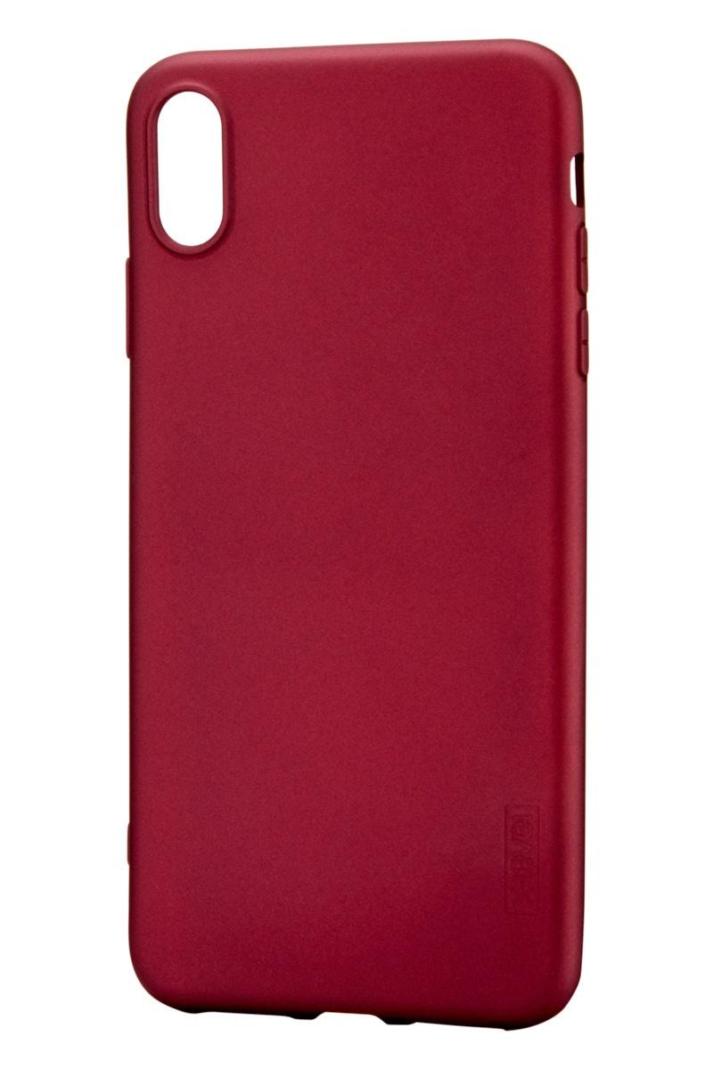 Чехол для сотового телефона X-level Apple iPhone XS Max, бордовый