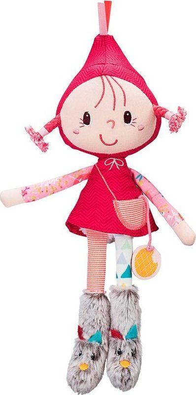 Мягкая кукла Lilliputiens Красная шапочка, 83043, малая погремушки lilliputiens ручная единорожка луиза