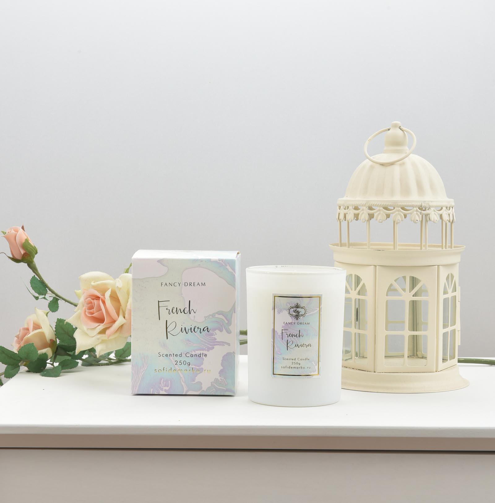 Бергамот и Мускус Свеча Ароматическая (1шт) свеча столбик уютный мускус actuel ароматическая