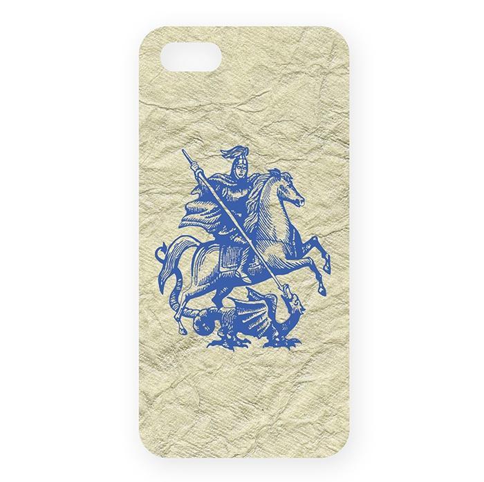 Чехол для сотового телефона Mitya Veselkov IP5.MITYA, синий цена и фото