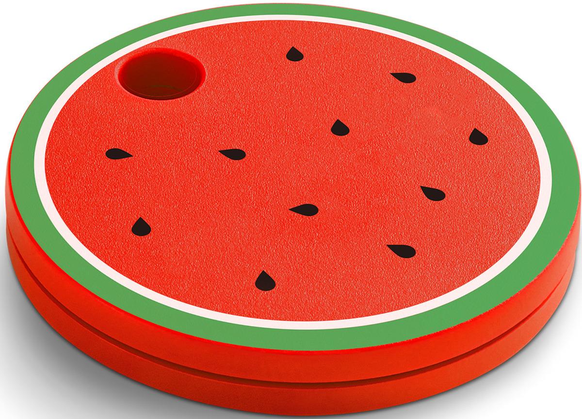 Умный брелок Chipolo Classic Fruit Арбуз, CHP_M45S-WMN-R, красный