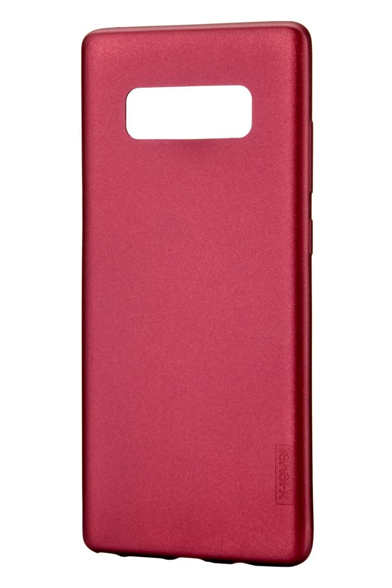 Чехол для сотового телефона X-level Samsung Note 8, бордовый