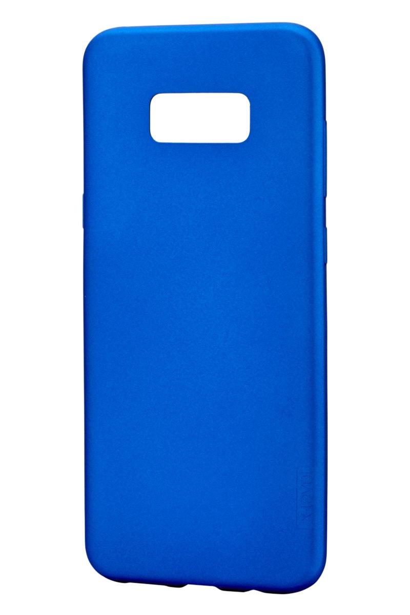 Чехол для сотового телефона X-level Samsung S8 Plus, синий чехол для сотового телефона x level samsung s8 бордовый