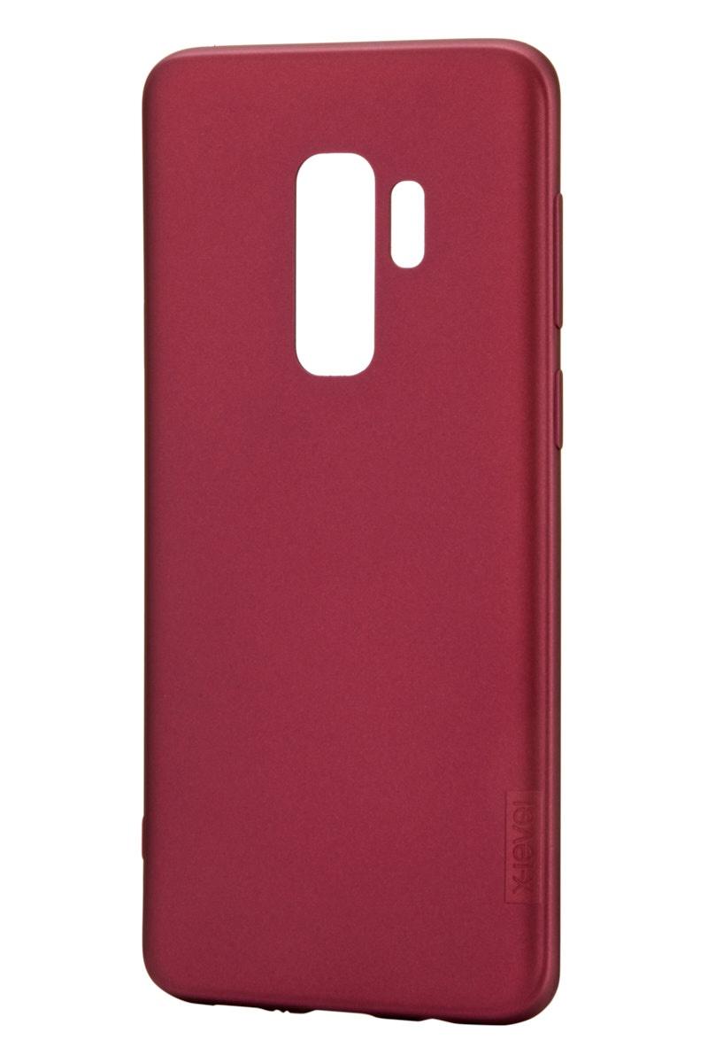 Чехол для сотового телефона X-level Samsung S9 Plus, бордовый